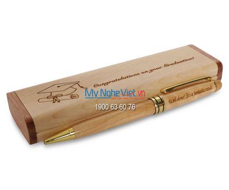 Hộp bút gỗ QTN23