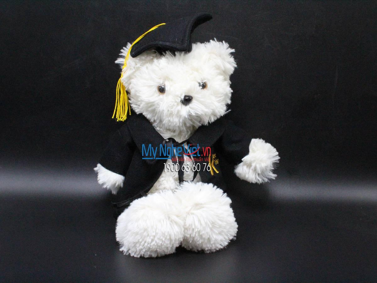 Gấu trắng tốt nghiệp trường Kent MNV-KENT2018
