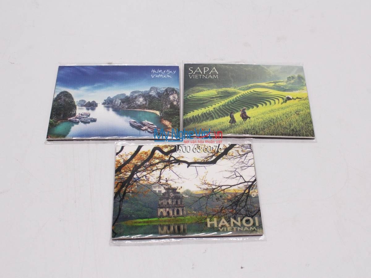 Magnet phong cảnh Hà Nội MNV-QTG06