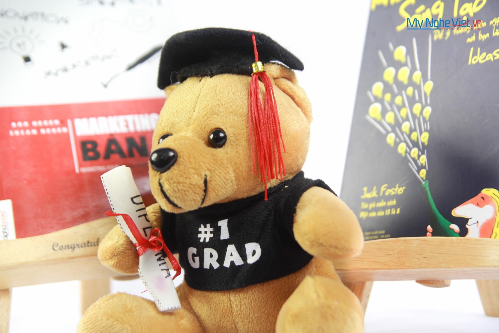 Gấu tốt nghiệp GRAD No.1 (Tạm hết hàng)
