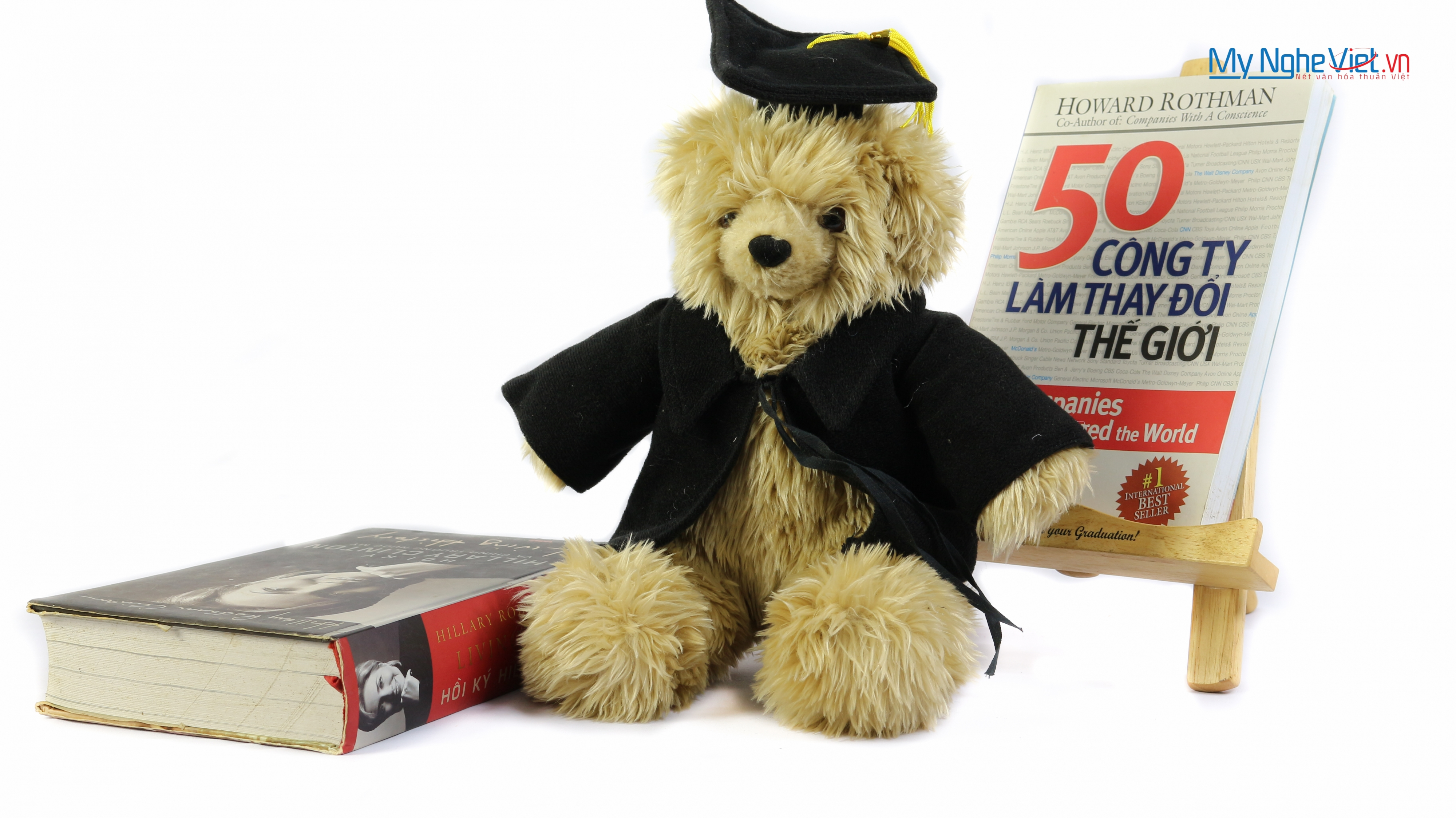 Gấu tốt nghiệp mặc vest