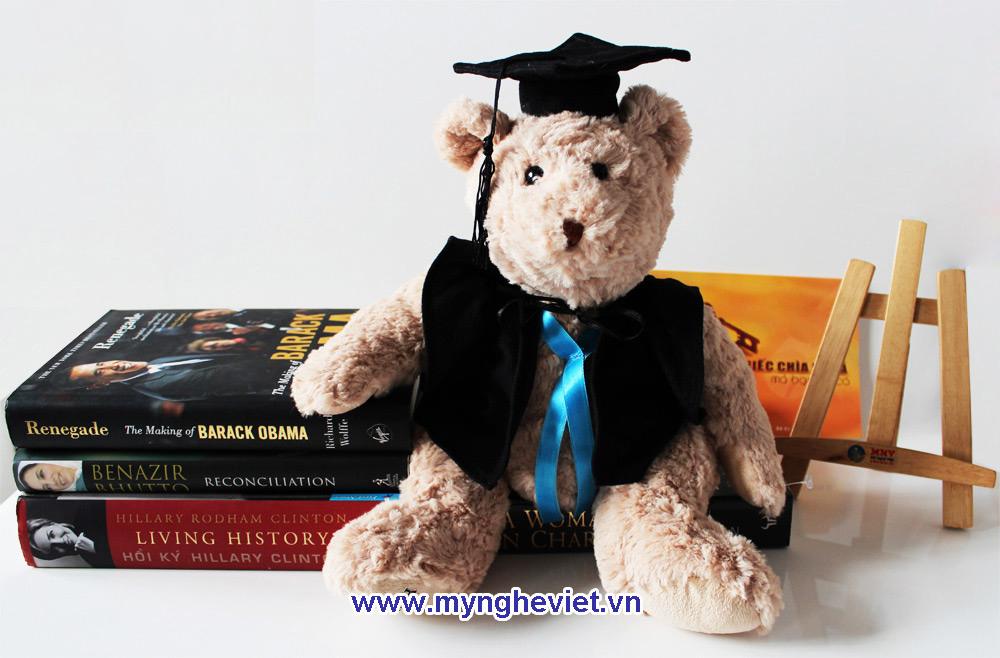 Gấu tốt nghiệp Monash QTN10/5 (Tạm hết hàng)