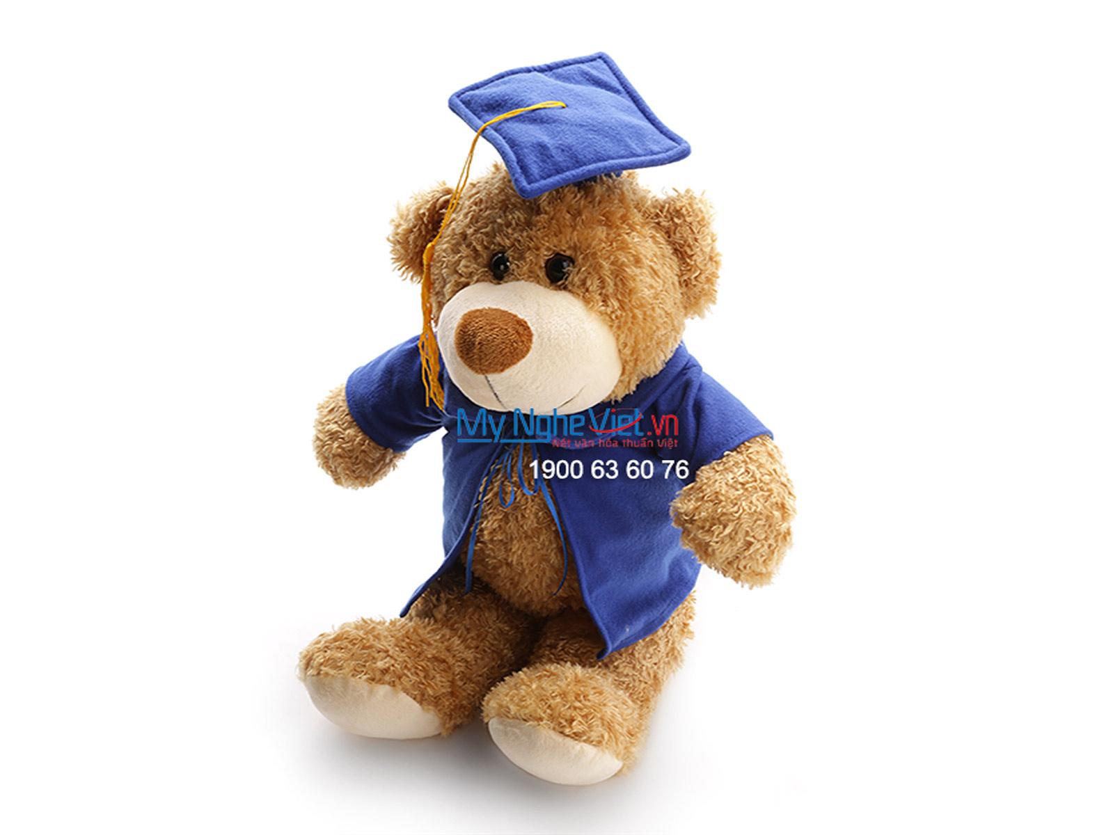 Gấu tốt nghiệp nâu QTN-GBL01