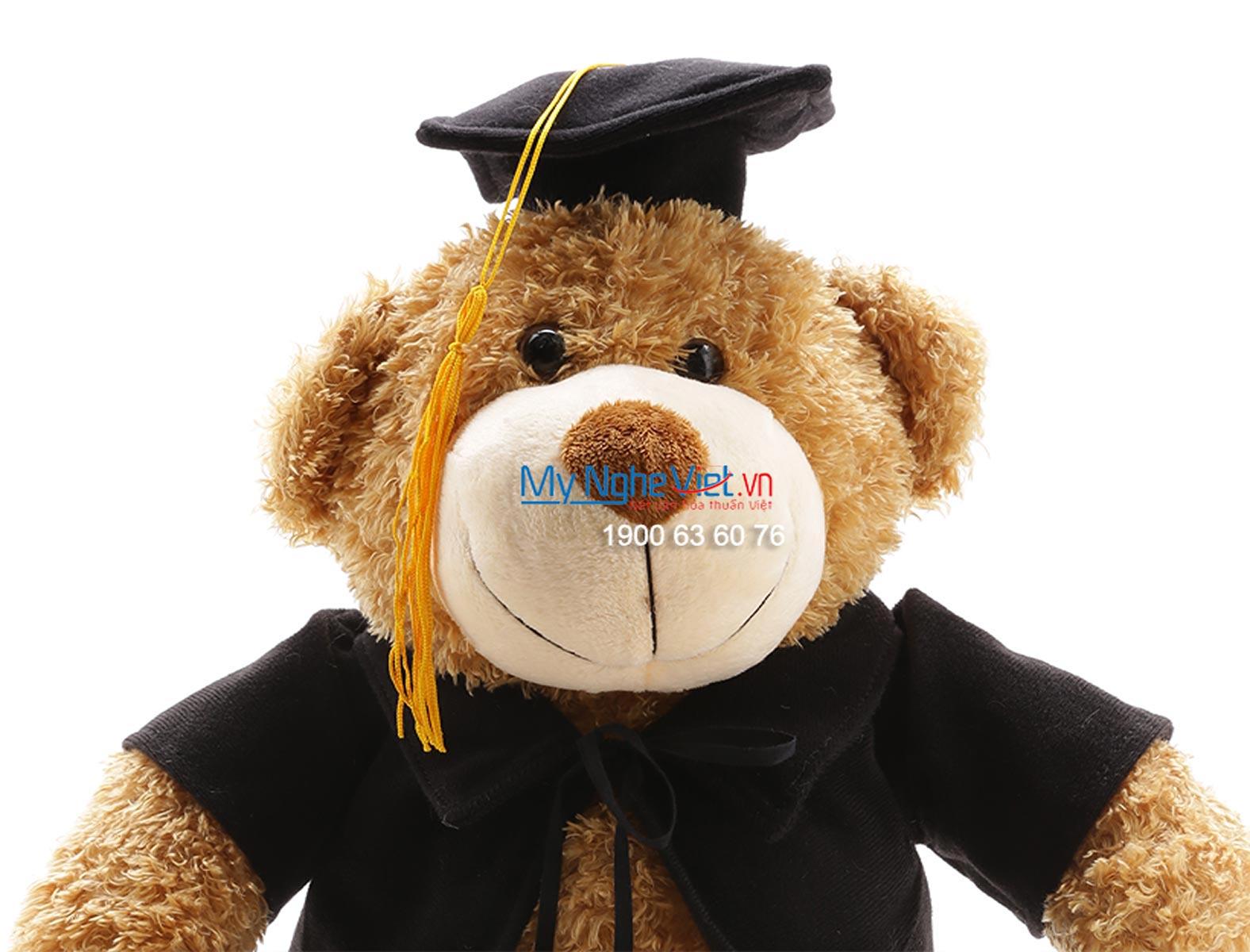 Gấu tốt nghiệp nâu QTN-GBL02