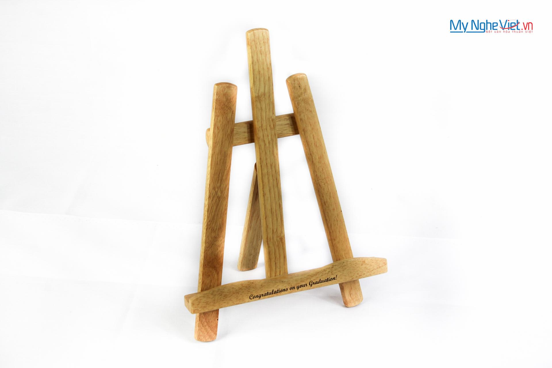 Giá gỗ để sách MNV-GS02 (Cỡ nhỏ)