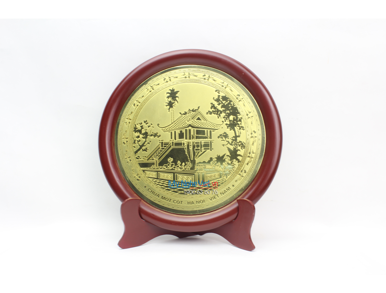 Đĩa đồng lưu niệm MNV-DD04