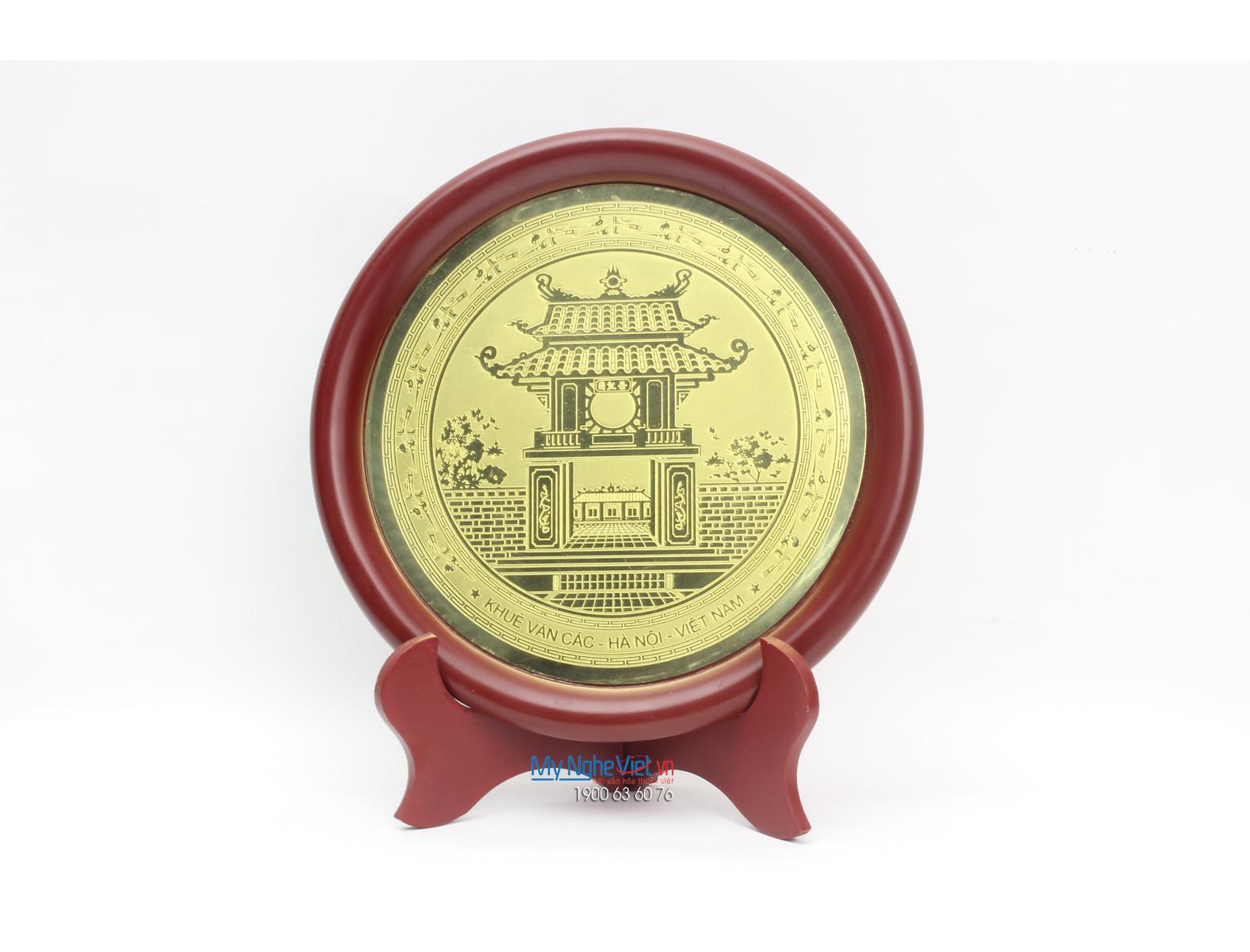 Đĩa đồng lưu niệm MNV-DD03