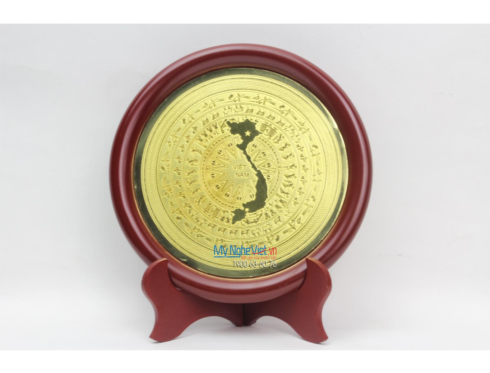 Đĩa đồng lưu niệm MNV-DD05